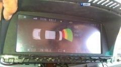 老款宝马760升级触摸导航、CMMB车载数字电视,昆明发烧友汽车音