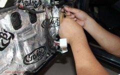 马自达2汽车音响改装,升级摩雷玛仕舞高性价比喇叭!昆明发烧友