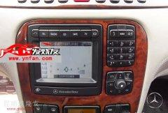 昆明发烧友:奔驰S级-5寸屏原车屏升级DVD导航,数字电视