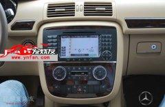 奔驰GL级汽车原车屏幕升级DVD导航