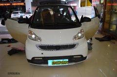 <b>昆明发烧友  城市精灵――奔驰smart汽车音响改装曼琴喇叭</b>