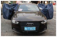 奥迪A4汽车音响改装丹麦绅士宝   昆明发烧友