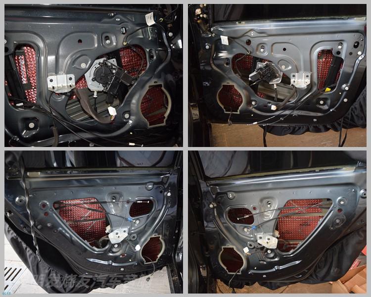 奔驰C200汽车音响改装丹拿喇叭,昆明发烧友汽车音响