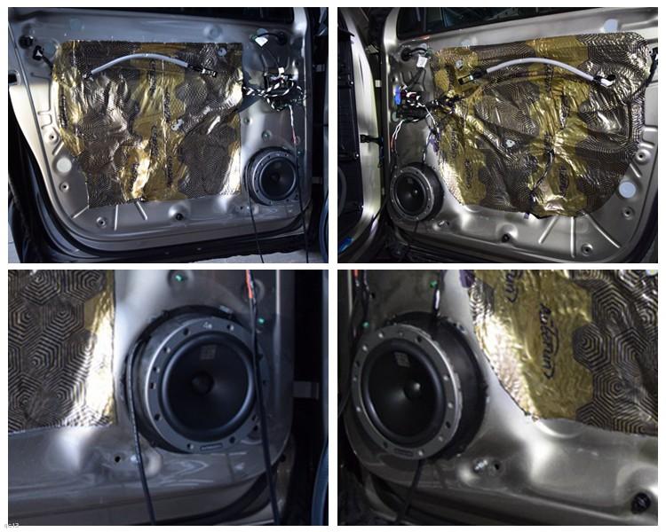 昆明发烧友汽车音响,大众途观音响升级丹拿40周年限量版喇叭