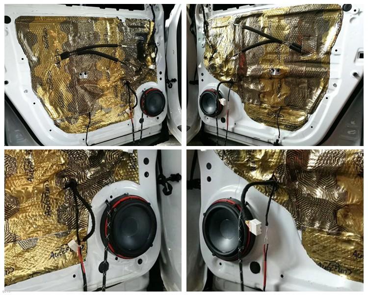 昆明发烧友汽车音响:长安CS75汽车音响改装升级美国JBL和MTX喇叭