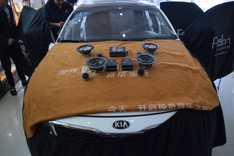昆明起亚K5汽车音响改装丹拿和美国MTX喇叭,昆明发烧友汽车音响