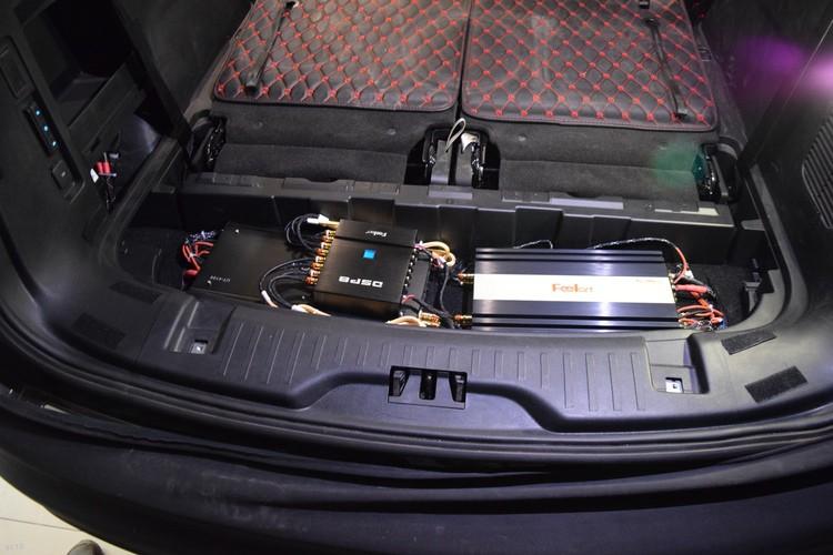 福特锐界车载音响华丽升级丹拿音响系统,昆明发烧友汽车音响