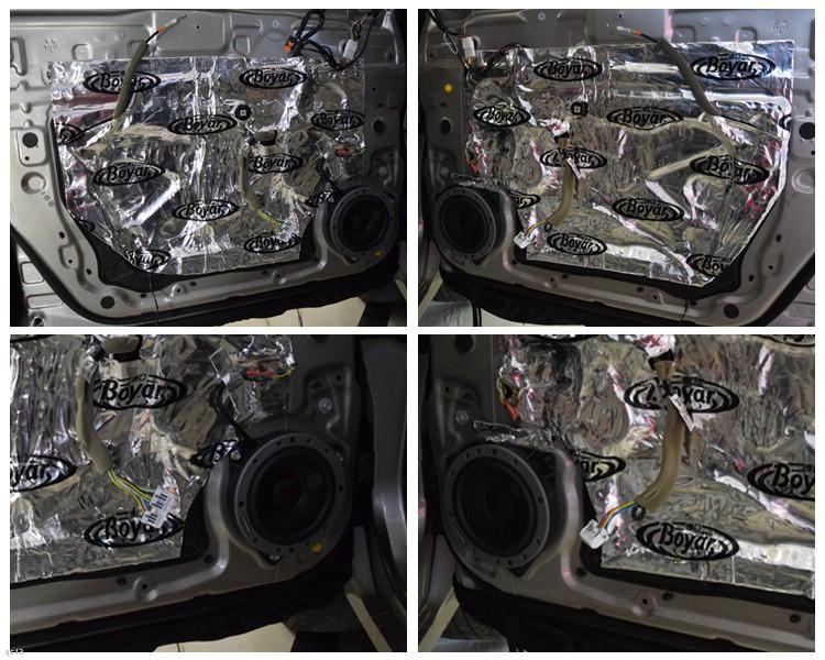 昆明雷诺科雷傲车载音响改装丹拿喇叭和DSP,昆明发烧友汽车音响