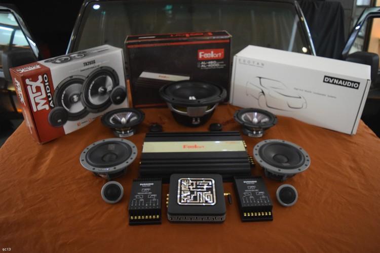 北汽BL40汽车音响改装丹拿喇叭、功放低音,昆明发烧友汽车音响