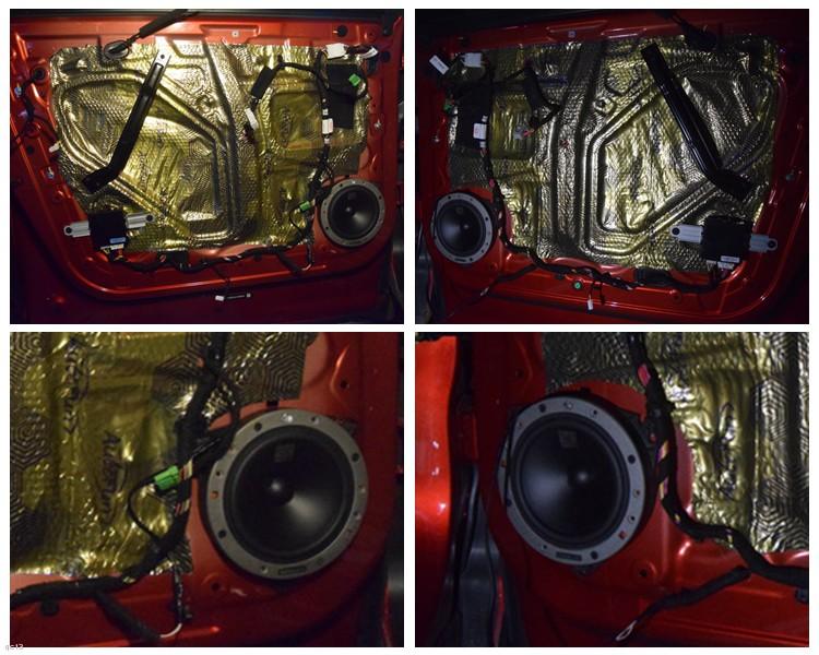 红河比亚迪唐车主改装丹拿汽车音响系统-昆明发烧友汽车音响