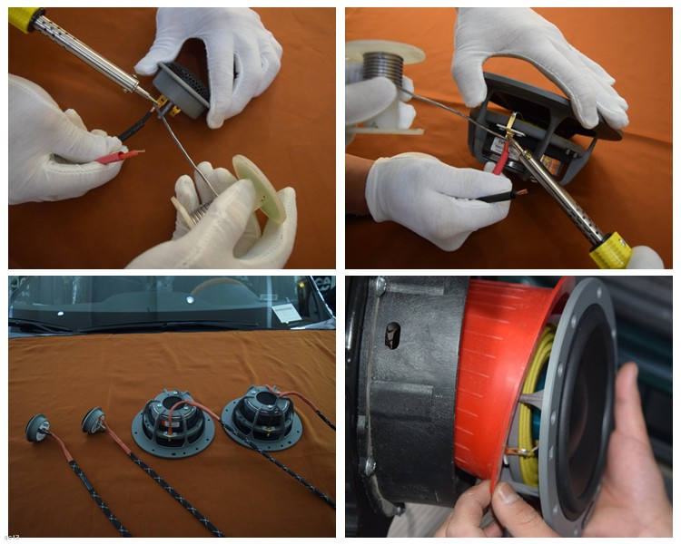 昆明丰田汉兰达汽车音响改装丹拿喇叭、DSP和低音,昆明发烧友