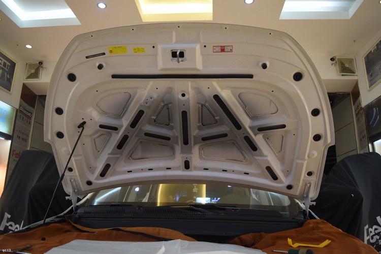 昆明发烧友汽车音响改装:汉腾X5全车隔音降噪处理,解决噪音问题