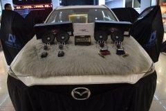 马自达CX5改装瑞典DLS汽车音响系统,昆明发烧友汽车音响