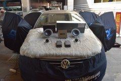 大众速腾汽车音响改装丹麦丹拿40周年纪念版音响,昆明发烧友汽车音响