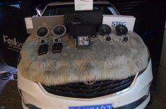 别克GL8汽车音响改装丹拿40周年纪念版喇叭,昆明发烧友汽车音响