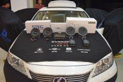 雷克萨斯Es300h汽车音响改装,升级丹麦丹拿喇叭,昆明发烧友